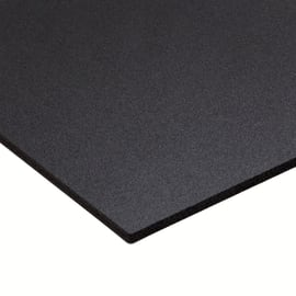 Lastra PVC espanso nero 2000 x 1000  mm, spessore 3 mm