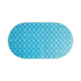 Tappeto antiscivolo vasca Frost azzurro