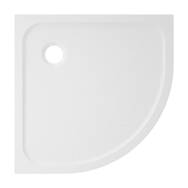 Piatto doccia resina Mila 80 x 80 cm bianco