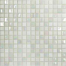 Mosaico White plus 32,7 x 32,7 cm bianco