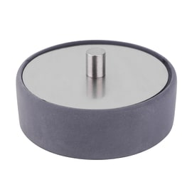 Porta cotone Apollon grigio