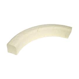 Cordolo Classic curvo bianco bifacciale