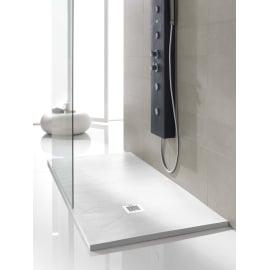 Piatto doccia poliuretano Soft 90 x 90 cm bianco