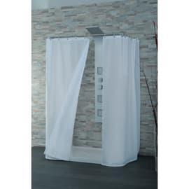 Tenda doccia Basic bianca L 180 x H 200 cm