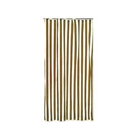 Tenda da sole ad anelli marrone 150 x 250 cm