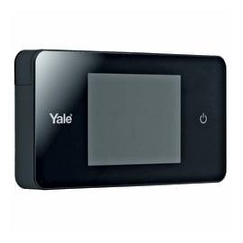 Spioncino digitale per porte blindate Yale Standard nero