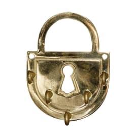 Bacheca porta chiavi 5 posti 10,5 x 1 x 13,8 cm
