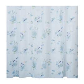 Tenda doccia Canneto azzurra L 240 x H 200 cm