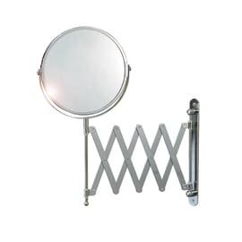 Specchietto ingranditore Round acciaio Ø 19 cm