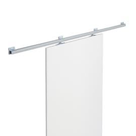 Binario scorrevole Tango 186 cm grigio in acciaio galvanizzato, per anta di larghezza massima 96 cm