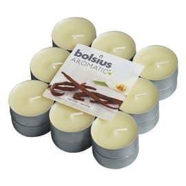 Tealight confezione 18 pezzi essenza vaniglia