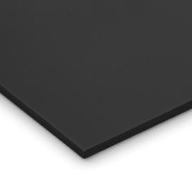 Lastra gomma crepla nero 29,7 x 21  mm, spessore 10 mm