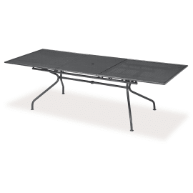 Tavolo allungabile Pavesino, 200 x 100 cm canna di fucile