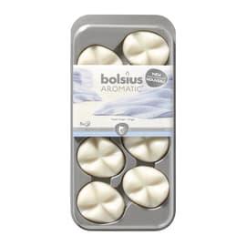 Cialde profumate confezione 8 pezzi essenza vaniglia, rosa, white tea and ginger,lavanda , cotone