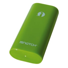 Caricabatterie Power Bank Isnatch LI-ION iShatch verde 4000 mAh