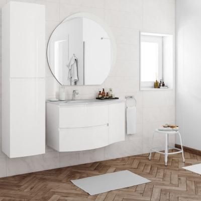 Mobile bagno Vague bianco L 104 cm prezzi e offerte online | Leroy ...