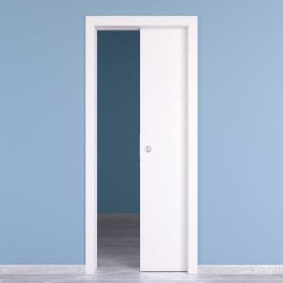 Porta da interno scorrevole Kent 80 x H 210 cm reversibile prezzi e ...
