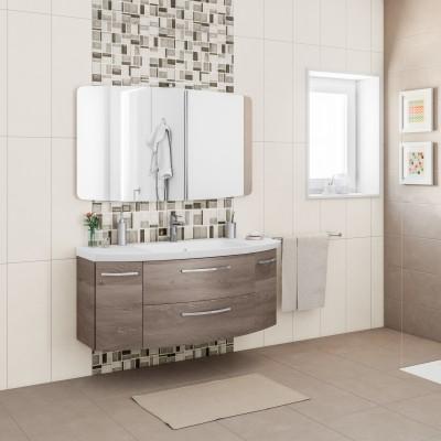 Mobile bagno cassca l 121 cm prezzi e offerte online leroy merlin - Stock rivestimenti bagno ...