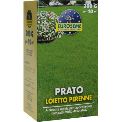 Semi per prato loietto 0 2 kg prezzi e offerte online for Prato finto leroy merlin
