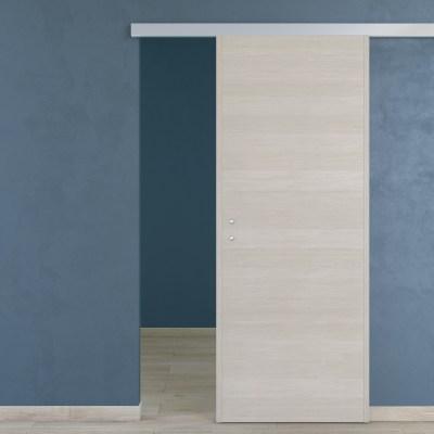 Porta da interno scorrevole One Ecrù 80 x H 210 cm reversibile ...
