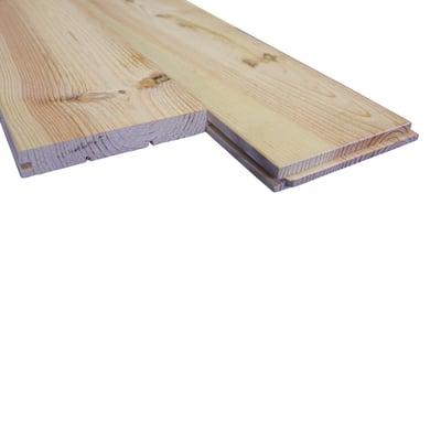 Listone pavimento pino grezzo pino 140 x 2000 mm prezzi e for Perline legno leroy merlin