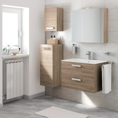 Mobile bagno Key rovere L 90 cm prezzi e offerte online | Leroy Merlin