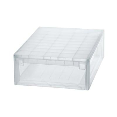 Cassetto light drawer 52xl trasparente prezzi e offerte for Leroy merlin contenitori