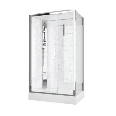 Cabina idromassaggio royal 120 x 80 cm dx prezzi e offerte for Leroy merlin cabina doccia