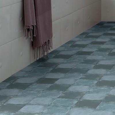 Pavimento vinilico adesivo square medium 1 5 mm prezzi e for Pavimento adesivo leroy merlin