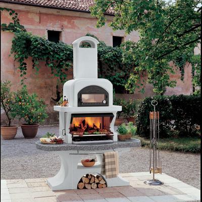 Barbecue in muratura con cappa e forno capri 2 prezzi e for Bricoman barbecue