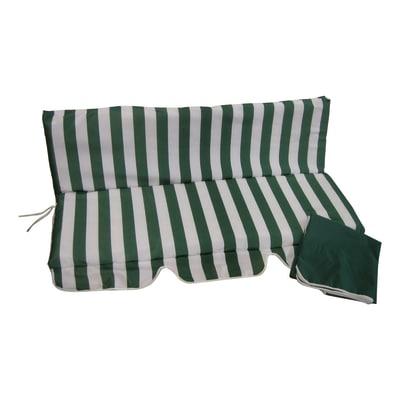 Cuscino dondolo a righe 110 x 130 cm prezzi e offerte for Dondolo da giardino leroy merlin
