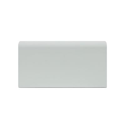 Battiscopa passacavo plus bianco 15 x 80 x 2000 mm prezzi for Battiscopa bianco leroy merlin