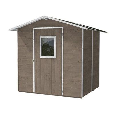 Casetta in legno vaniglia 3 96 m spessore 19 mm prezzi e - Piastrelle spessore 3 mm prezzi ...