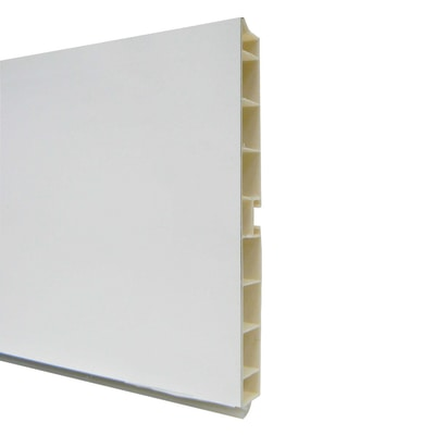 Zoccolino H 10 cm bianco L 300 cm prezzi e offerte online ...