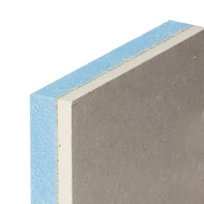 Lastra di cartongesso accoppiata con isolante 120 x 200 cm for Polistirolo estruso leroy merlin
