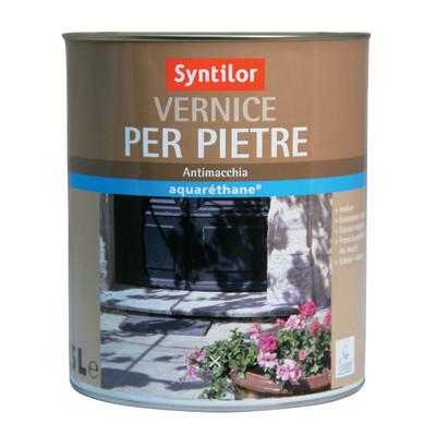 Vernice per pietre syntilor trasparente opaco 2 5 l prezzi for Vernice per plastica leroy merlin
