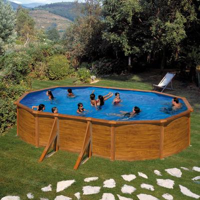 Piscina ovale gre 500 x 300 cm prezzi e offerte online for Attrezzi piscina