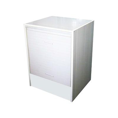 Mobile porta lavatrice strong rollup kit bianco l 67 x p 59 5 x h 91 5 cm prezzi e offerte - Mobile porta lavatrice e asciugatrice leroy merlin ...