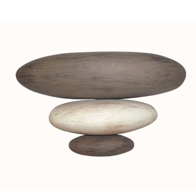 Applique sassi marrone l 24 x h 15 cm prezzi e offerte for Ciottoli da giardino leroy merlin
