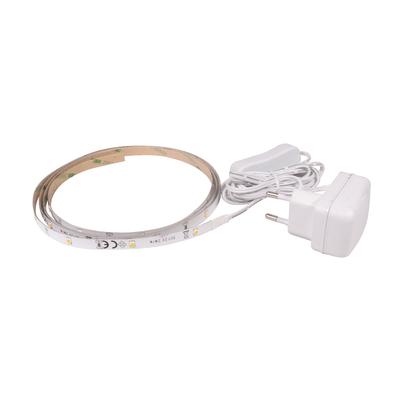 Kit striscia led non estensibile luce calda m1 5 prezzi e for Luce led striscia