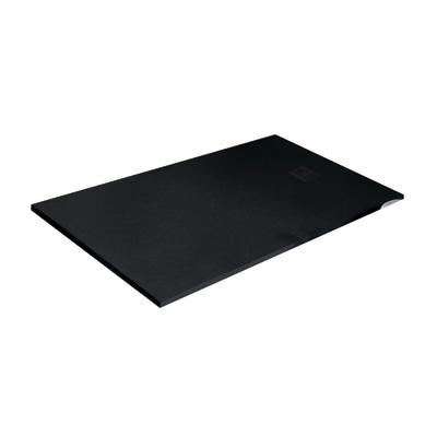 Piatto doccia resina strato 180 x 90 cm nero prezzi e offerte online leroy merlin - Piatto doccia nero ...