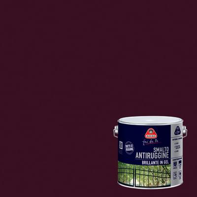 Smalto per ferro antiruggine boero testa di moro brillante for Leroy merlin boero