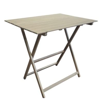 Tavolo pieghevole king 80 x 60 cm prezzi e offerte online - Tavolo pieghevole leroy merlin ...