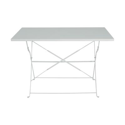 rettangolare x in Tavolo Color 110 P L 70 cm acciaio EIe2DYWH9
