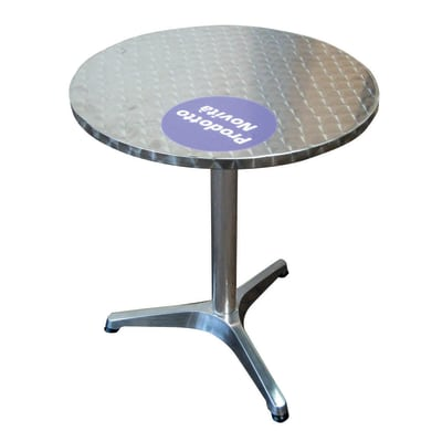 Tavolo da pranzo per giardino rotondo in alluminio prezzi ...