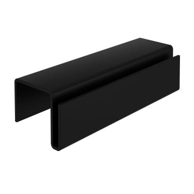 Gancio delinia id in acciaio nero prezzi e offerte online for Delinia accessori