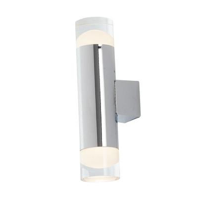 Applique zephyr led integrato in alluminio bianco e for Profilo alluminio led leroy merlin