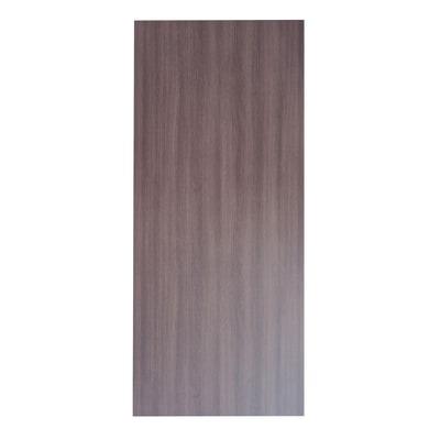 Pannello Per Porta Blindata Laccato Noce L 92 X H 213 Cm Sp 6 Mm