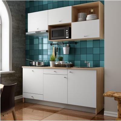 Cucina In Kit One Bianco L 180 Cm Prezzo Online Leroy Merlin