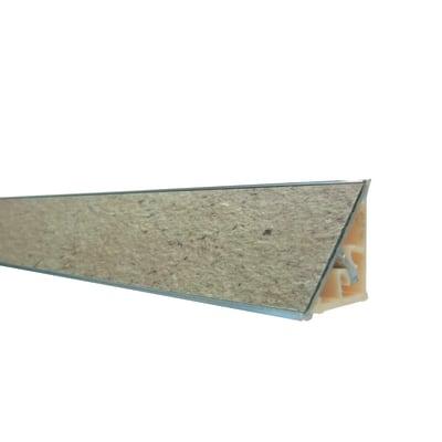 Alzatina alluminio marrone L 300 x Sp 2.7 cm prezzi e ...
